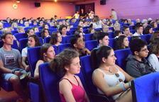 El primer Festival Rocs de la Seu d'Urgell va celebrar ahir la gala d'exhibició de films al Cinema Guiu.