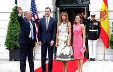 Trump diu que li agradaria anar a Espanya al rebre els reis