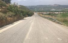 La Granja finalitza l'ampliació del camí de Maials