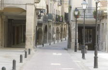 El carrer Major de Junea