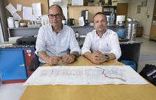 Dos empresas de Lleida inician los trabajos del macrocentro de BonÀrea en Aragón