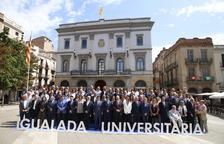 La presentación del campus de la UdL en Igualda, el año pasado.