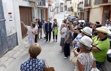 Camarasa recrea el poble de fa un segle amb un recorregut històric