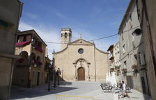 L'església de la Transfiguració del Senyor de Juneda.
