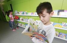 Plan de fomento de la lectura en una escuela de Lleida ciudad.