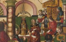 Imatge de la taula 'Jesús entre els doctors de la llei'.