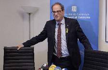 Torra abandona un acte a Washington molest pel discurs de l'ambaixador espanyol