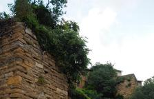 Àger finalitza la restauració de la muralla urbana, que serà visitable
