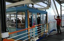 360 turistes estrenen la temporada del telefèric