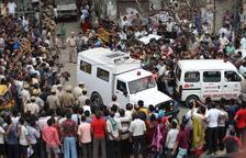 Troben onze cadàvers penjats en un habitatge de Nova Delhi