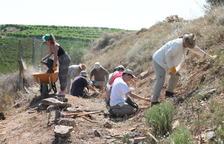 Aitona, Seròs y La Granja d'Escarp recuperan construcciones de la guerra
