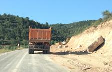 Las obras en la carretera de Cervià a la capital obligan a cortar el tráfico