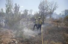 Un segundo incendio en 24 horas calcina otras 2,5 hectáreas en Aitona