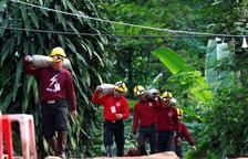 Muere un buzo en el rescate de la cueva tailandesa