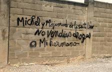 Mensaje directo a través de las paredes de Agramunt