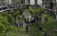 Sort ultima la votació sobre la nova imatge per al parc del Riuet