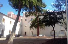 Jardines del antiguo convento de Santa Clara.