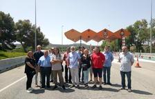 ERC exige ampliar hasta Lleida el desvío de camiones a la autopista