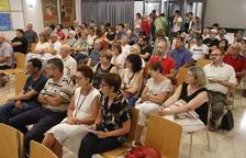 Un momento de la presentación del plan, a la que acudió público del sector cultural de la ciudad.