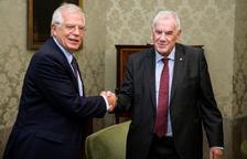 Cunillera cierra la puerta a un referendo pero ofrece a Torra cooperar en asuntos sectoriales
