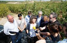 BonÀrea explica a la consellera de Agricultura su modelo de negocio