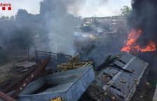 Sufoquen incendis a Bellpuig, Torà, Cervera, Camarasa i Agramunt