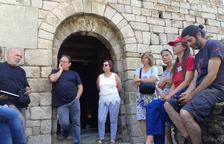 Primeres visites guiades a l'església de Sant Viçenç de Capdella