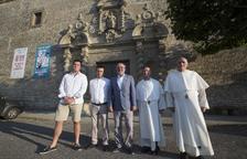 La Diputació ajudarà a concloure obres del santuari de Sant Ramon