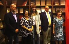 La presentación contó con la presencia de la consellera Laura Borràs y de la escritora Maria Barbal.