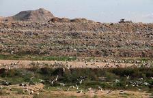 Las instalaciones del vertedero del Segrià, en Montoliu, en el que se invertirán 20 millones en mejoras.
