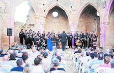 Un momento del concierto que tuvo lugar el sábado en Vallsanta.
