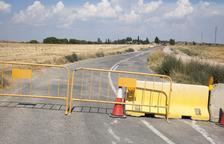 Tanca per obres fins al setembre la via entre Castellserà i Preixens