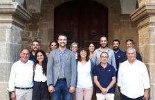 La consellera Teresa Jordà va visitar dimecres la localitat d'Agramunt.