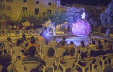 L'espectacle va omplir de públic la plaça del Sitjar dijous passat a la nit.