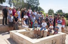 Almenara inaugura la restauració dels safarejos