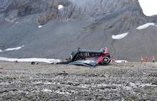 Moren 20 persones a l'estavellar-se un avió militar antic a Suïssa