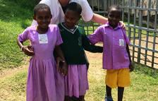 Cooperante leridano en Uganda