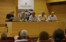 Un momento de la presentación de la XV edición del Seminario de Postgrado Cervera-Jordà.