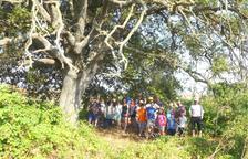 La excursión que se organizó la semana pasada en Sant Guim.