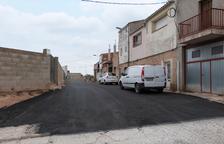 Obras de mejora en plazas y calles de Les Borges