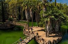 Vistes del Parc Samà, que té 14 hectàrees i va ser fundat a finals del segle XIX per Salvador Samà.