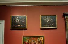 La taula 'Adoració dels Reis Mags' exposada ja al Meadows Museum de Dallas.