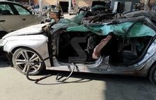 El vehicle accidentat.