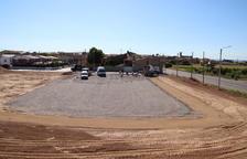 Sidamon habilita un pàrquing per a autocaravanes al Parc del Canal