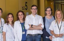 L'equip que ha participat en l'estudi de l'atenció a pacients amb malaltia pulmonar obstructiva crònica.