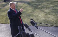 """La premsa s'uneix contra l'assetjament de Trump, que diu que és """"l'oposició"""""""