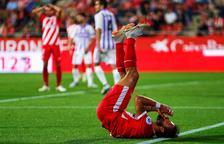 El Girona no puede con el Valladolid en el estreno liguero