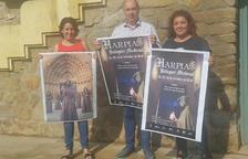Presentació ahir a Balaguer la vuitena edició d'Harpia.