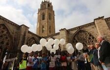 Un homenaje cálido, sensible y apolítico en el claustro de la Seu Vella de Lleida