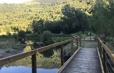 El parc del Salencar estrena un itinerari per a discapacitats